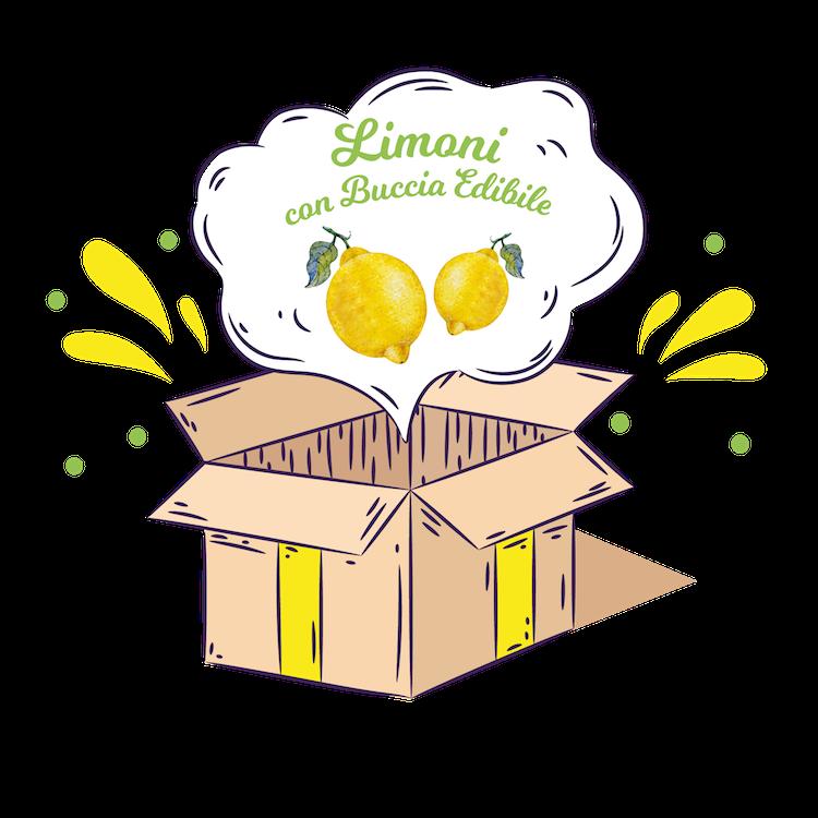 Limoni Calabresi Buccia Edibile